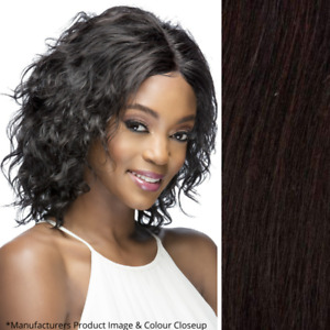 Imperfect Vivica Fox Lapis Wig - Lace Front - 100% Human Hair - Color Off Black