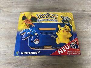 Nintendo N64 Konsole Pokemon Pikachu Edition
