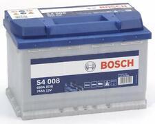 Bosch batterie Starterbatterie S4 008 74Ah 680A Autobatterie Akku Audi Bmw VW