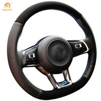 Suede Steering Wheel Cover for VW Golf 7 GTI Golf R MK7 Polo Scirocco #DZ73