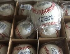 1 Dozen Rawlings Rnf Nfhs Official League Stamped Leather Baseballs