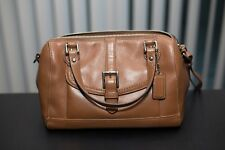 Women Coach Bag Purse Brown Shoulder