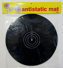 "12"" Antistatic Turntable Mat Felt/Carbon Fibre (Vinyl Record Player Slipmat) NEW"