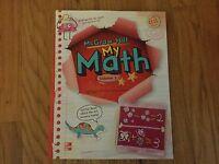 My Math Grade 1 Student Edition Workbook Volume 2 McGraw-Hill New