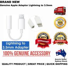 Genuine Apple Lightning to 3.5mm Headphone Audio Jack Adapter for iPhone X 8 7
