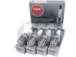 (SET OF 4) NGK 2756/BKR6E-11 V-POWER PREMIUM COPPER SPARK PLUGS