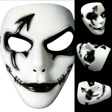 Halloween Plastic Full Scary Prank Full Face Mask Face Cover Cosplay Stage Prop