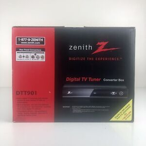 (NEW) ZENITH DTT901 DIGITAL TV TUNER CONVERTER BOX