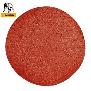 180 mm Sanding Discs 7 inch MIRKA Pads Sandpaper Hook and Loop Grit P40-P240
