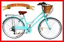 Vintage Retro Ladies Bicycle / Bike 6 Speed Beach Cruiser MINT Green