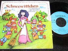 SCHNEEWITTCHEN Brüder Grimm / DDR Reissue SP 1988 LITERA 565124