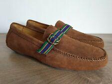 Vintage POLO RALPH LAUREN Brown Suede Moccasins Men's Size 13 D - RARE - NOS