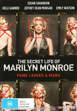 The SECRET LIFE Of MARILYN MONROE DVD TV SERIES BIOGRAPHY BRAND NEW RELEASE R4