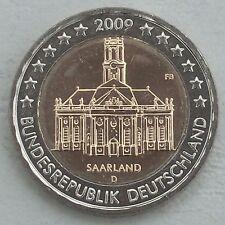 2 Euro Deutschland 2009 D Saarland unz