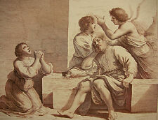 RICHARD DALTON / GUERCINO `TOBIAS, ERZENGEL RAPHAEL, TOBIT, ANNA, REISE` ~1764