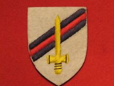 BRITISH ARMY WW2 6TH GUARDS ARMOURED BRIGADE FORMATION BADGE EMBROIDERED PATCH