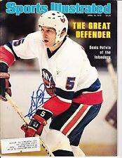 New York Islanders Denis Potvin Signed Sports Illustrated Magazine