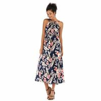 Floral beach party summer sundress long maxi cocktail evening Women's boho dress