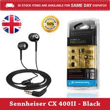 Sennheiser CX 400 II Precision In-Ear only Headphones - Black- Fast Dispatch U.K