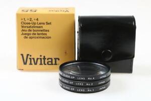 VIVITAR Close-Up Filterset No. 1, 2, 4 - 55mm