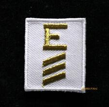 BATTLE EFFICIENCY E PATCH 4TH AWARD US NAVY VETERAN USS PIN UP UNIFORM SAILOR