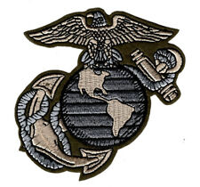 MARINE USMC EGA 3.5 inch Embroidered iron on sew on Patch (MTE1)