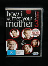 3 x Disc DVD set - Complete season 3 - How I met your mother