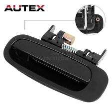 For 1998-2002 TOYOTA COROLLA Outside Black Rear Left Driver LH Door Handle