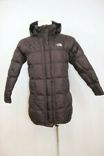 The North Face Women's Metropolis Goose Down 600 Hooded PARKA Jacket Small