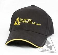 Twisted Throttle Baseball Cap - Classic Black
