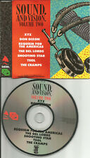ULTRA RARE 1989 PROMO CD THE CRAMPS Shooting Star TSOL Del Lords XYZ Don Dixon