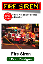 FIRE TRUCK Siren Circuit for Diecast Models and R/C Emergency Vehicles