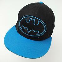 Batman Black Blue DC Comics Ball Cap Hat Adjustable Baseball Adult