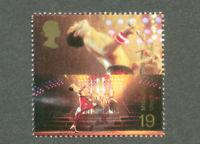 Freddie Mercury Official Great Britain postage stamp-mnh  Music-Queen Pop(1999)