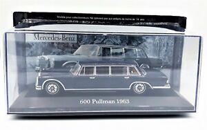 MERCEDES  600  PULLMAN  1963  -  IXO / ALTAYA  - 1/43