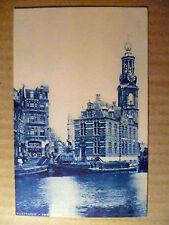 Vintage Postcard- Munttoren: Amsterdam, Netherlands