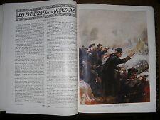 GUERRE 14/18 LA GUERRE DES NATIONS REVUE COMPLETE EN 12 N° 1915 FUNCK-BRENTANO