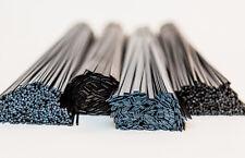 Plastic welding rods MIX BLACK 50p HDPE ABS PP P/E  PP/EPDM