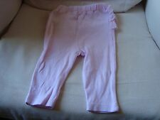 Cute pink Ladybird frilly bottom trousers. 3-6 Months.