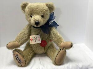 "Hermann ""Florian"" German Mohair 17"" Fully Jointed Growler Bear Limited Edition"