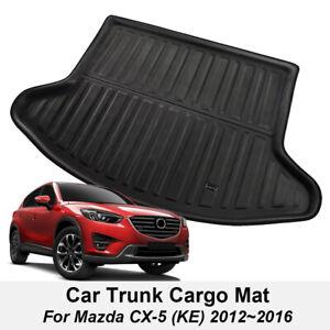 Rear Trunk Cargo Liner Boot Floor Mat Tray Carpet For Mazda Cx-5 Cx5 2012-2016