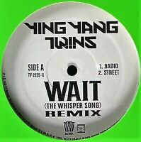 "YING YANG TWINS ""WAIT (REMIX)"" 2005 VINYL 12"" SINGLE 4 MIXES ~RARE~ HTF *SEALED*"