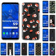Thin Gel Design Protective Phone Case Cover for Samsung Galaxy S9,Sushi Print