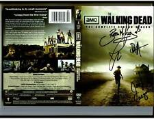 Walking Dead Complete 2nd season dvd signed by Bear McCreary Jeryle Prescott + 2