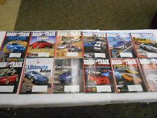 ROAD & TRACK 12 Issues 2009 Nissan 370Z Ferrari California AMG SL65 McLaren P11