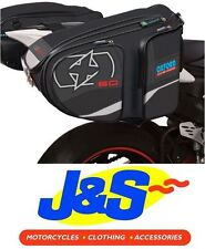 Oxford X60 Motorcycle Panniers Black Ol115 Touring Sports Luggage Throw Over J&s
