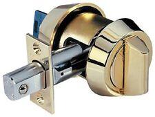 Mul-t-lock Hercular Single Cylinder deadbolt w/Thumb turn - Bright Brass