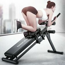 Foldable Sit Up Bench Abdominal Fitness Workout Home Gym Exercise Equipment US