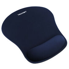 BLUE ANTI-SLIP MOUSE MAT PAD WITH WRIST SUPPORT FOR PC LAPTOP COMPUTER LOL GAMER