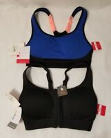 2 New Women's Champion Athletic High Support Workout Sports Bra Size XS